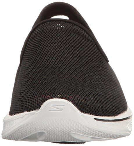 4 Go Airy Women's White Casual Shoe Skechers Black Walk qxPtaq1