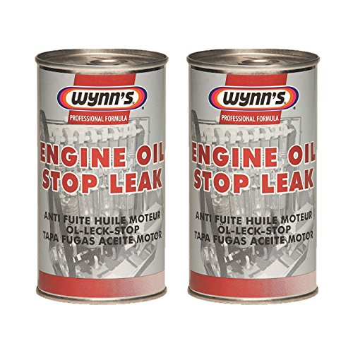 2 x Wynns Professional Formula Engine Oil Stop Leak 325ml