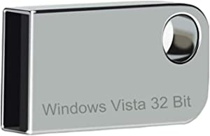 ILamourCar USB Compatible with Windows Vista x32 Home Premium. Recovery Repair Reinstall Full Support, 16GB Flash Drive for Desktop&Laptop - Silver