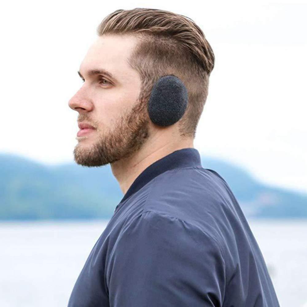 yiji Foldable Ear Warmers//Ear Muffs High-Class Windproof Fleece Winter Earmuffs Men Women /& Kids