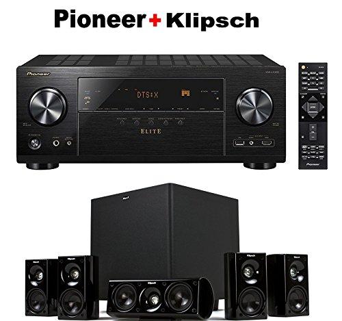 Pioneer-Elite-Audio-Video-Component-Receiver-black-VSX-LX302-Klipsch-HDT-600-Home-Theater-System-Bundle