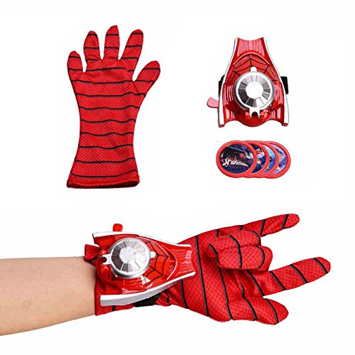 Jiada Super Hero Gloves with Disc Launcher