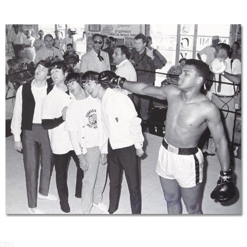Muhammad Ali Boxing Pictures (Muhammad Ali! Licensed Photograph of the Heavyweight Champ and the Beatles!)