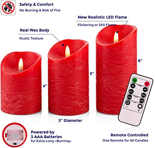 Venta LED Candles, Red by Venta (Image #1)