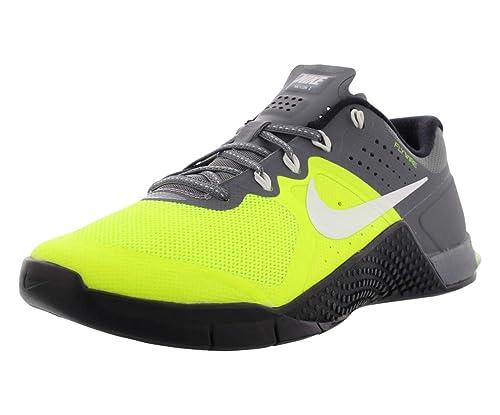 Nike Wmns Metcon 2, Zapatillas de Gimnasia para Mujer, Amarillo (Volt/White-Cool Grey-Black), 42 1/2 EU: Amazon.es: Zapatos y complementos