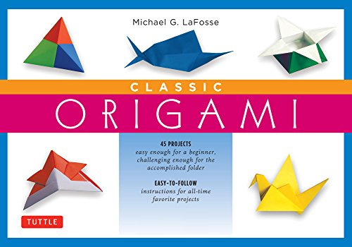 Classic Origami For Beginners Kit Ebook This Easy Book Contains 45 Fun Projects And