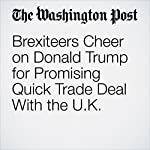 Brexiteers Cheer on Donald Trump for Promising Quick Trade Deal With the U.K. | Karla Adam