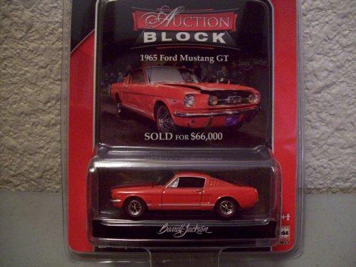 Auction Block Series - Greenlight Barrett Jackson Auction Block Series 8 1965 Ford Mustang GT