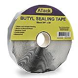 ATack Black Butyl Seal Tape 1/8-Inch x 3/4-Inch x