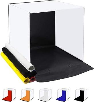 QKa Estudio fotográfico portátil, Caja de luz para fotografía ...