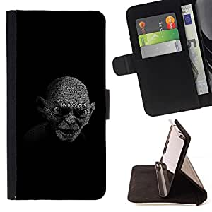 For LG G3 Case , My Precious Gollum- la tarjeta de Crédito Slots PU Funda de cuero Monedero caso cubierta de piel