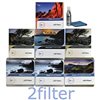Lee Filters SW150 Ultimate Kit for Canon 11-24mm - Mark II Holder, Adapter, Soft Edge & Hard Edge Grad Sets, Big & Little Stoppers, Circular Polarizer and 2filter cleaning kit!