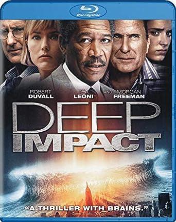 Amazon Com Deep Impact Blu Ray Morgan Freeman Tea Leoni Elijah Wood Robert Duvall Vaness Redgrave Maximilian Schell Mimi Leder Movies Tv