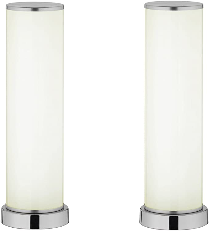 Wofi Action by Wofi - Juego de 2 lámparas de mesa led (mando a ...