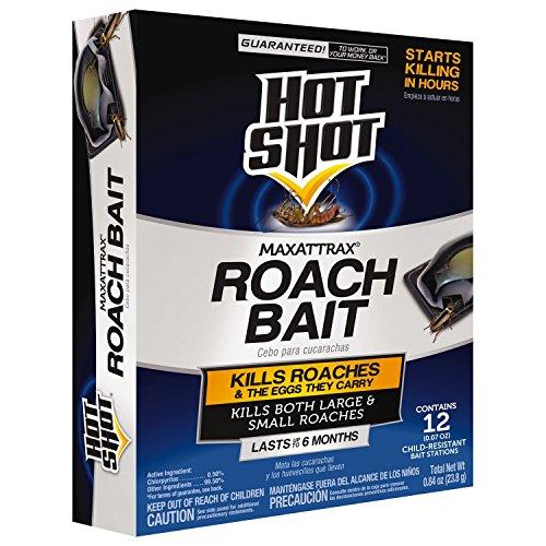 Liquid Roach Bait - Hot Shot MaxAttrax Roach Bait 12 Count 2030W