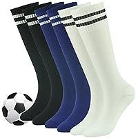 Youth Soccer Socks, Fasoar Teens Knee High Rugby Baseball...