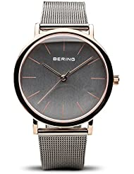 BERING Time 13436-369 Classic Collection Watch with Mesh Band and scratch resistant sapphire crystal. Designed...