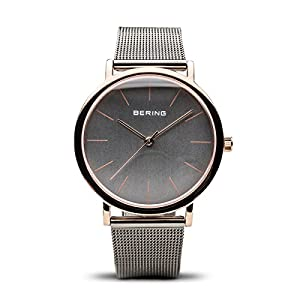 BERING Time | Women's Slim Watch 13436-369 | 36MM Case | Classic Collection | Stainless Steel Strap | Scratch-Resistant Sapphire Crystal | Minimalistic – Designed in Denmark