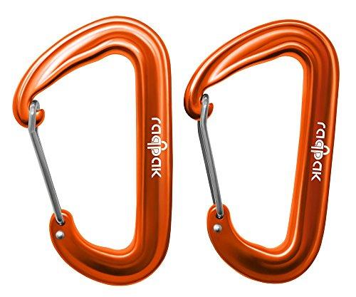 Raqpak Wiregate Carabiners Hammocks Lightweight