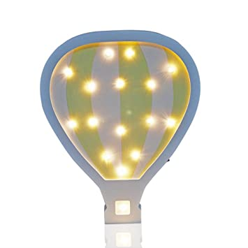 Amazoncom Hot Air Balloon Nursery Decor Night Light Baby Lamp Baby