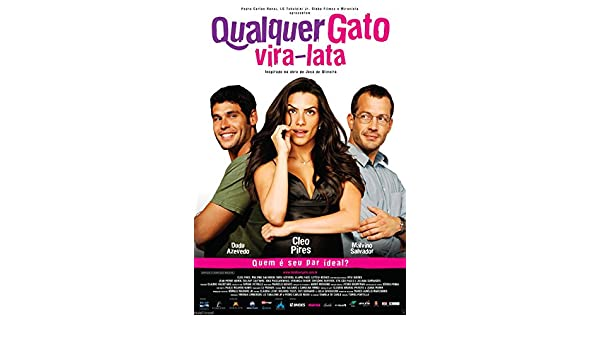 Amazon.com: DVD Qualquer Gato Vira-Lata Vira Lata [ Brazil 2011 ] [ Subtitles English ]: CLéO PIRES, DUDU AZEVEDO, KIKO MASCARENHAS, MALVINO SALVADOR, ...