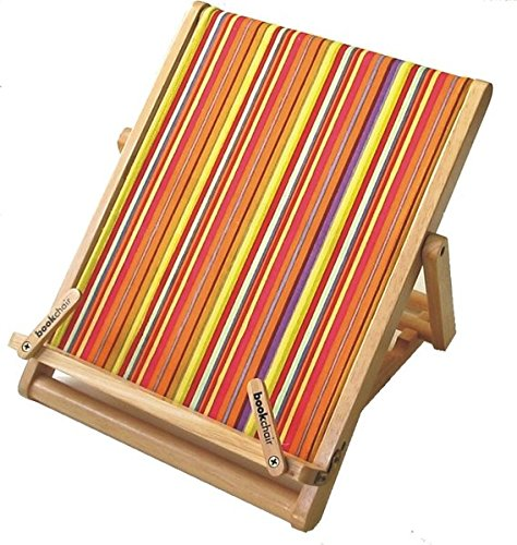 Bookchair Deluxe Standard - Stripy from Thinking Gifts