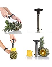 Impeccable Culinary Objects Pineapple Peeler, Corer and Slicer, Hand-held Stainless Steel