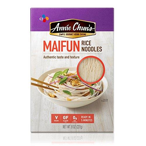 Annie Chun's Rice Noodles, Maifun, Vegan, Gluten-Free, 8-oz (Pack of 6)
