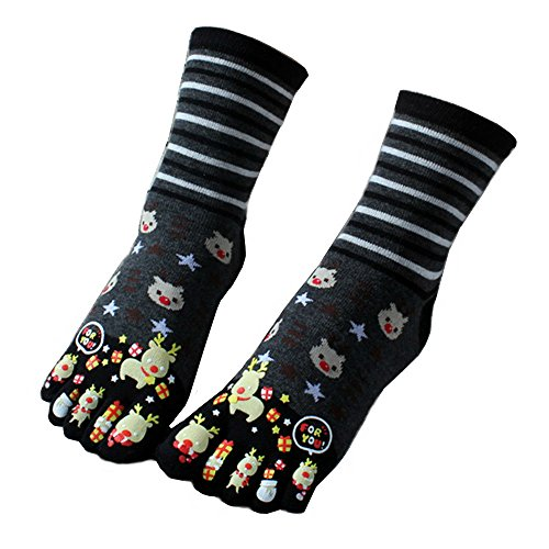 Awayyang 2 pairs of Comfort Cotton Socks for girls Cute ankel thumb Socks - Pair Free First Glasses Canada