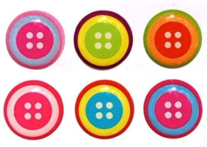 timeless design e53e2 6fa27 Button Style Home Button Stickers for iPhone 5 4/4s 3GS 3G, iPad 2, iPad  Mini, iTouch 6 pieces