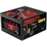 ACE 750W BR PSU with 12cm Red Fan and PFC - Black