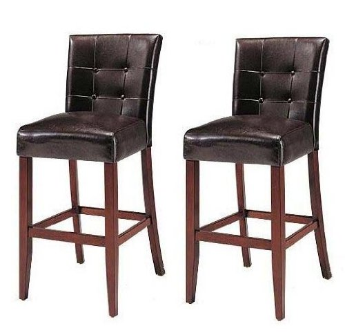 Set-Of-2-Counter-Height-24-Parsons-Chairs-With-Brown-Finish-Solid-Wood-Legs
