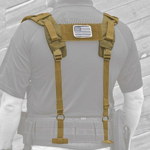 5.11 Tactical 56105 Brokos VTAC Harness, One Size, Sandstone