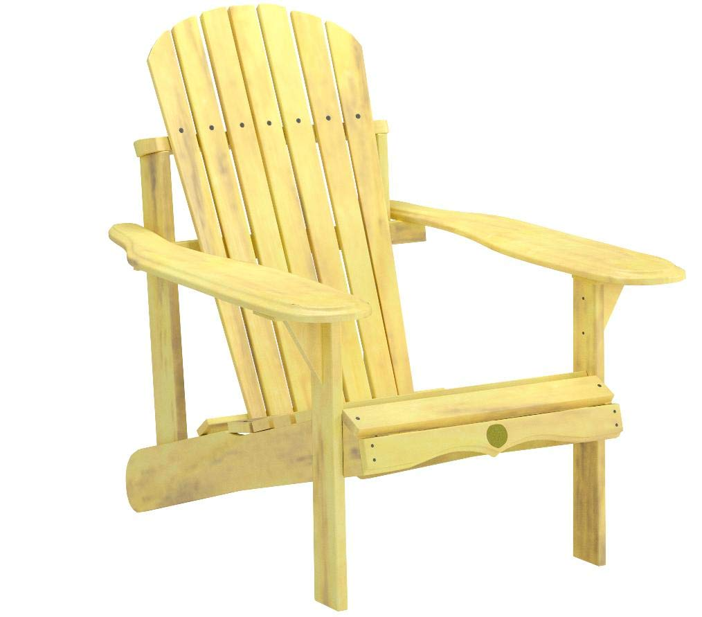 Bc201p Bear Chair - Pine Adirondack Chair Kit - Unassembled
