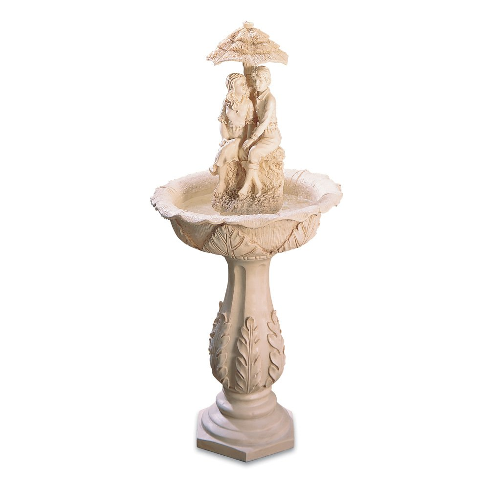 Koehler 32001 42 inch Couple Statue Water Fountain