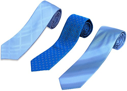 Set+of+3+Elegant+Neck+Ties+By+Mens+Collections+Color+%2312