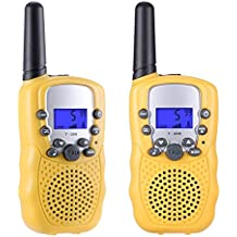 Gifts for Teen Girls, Tanst Walkie Talkies for Kids Toys for Girls Daughter,1Pair(Yellow)