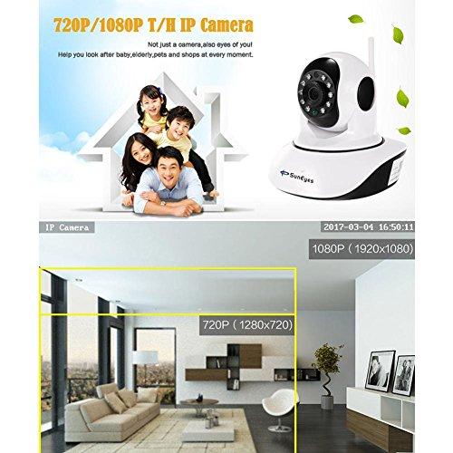 SunEyes SP-V710W Wireless 720P Pan Tilt Camera Night Vision WiFi Webcam(US) by SunEyes (Image #2)