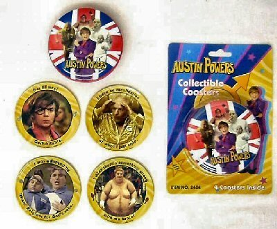 Coaster Austin Storage (Austin Powers Collectible Coasters with)