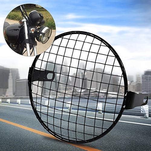 6 3 Inch Retro Motorrad Scheinwerfergitter Für Motorräder Metall Zubehör Für Motorrad Auto
