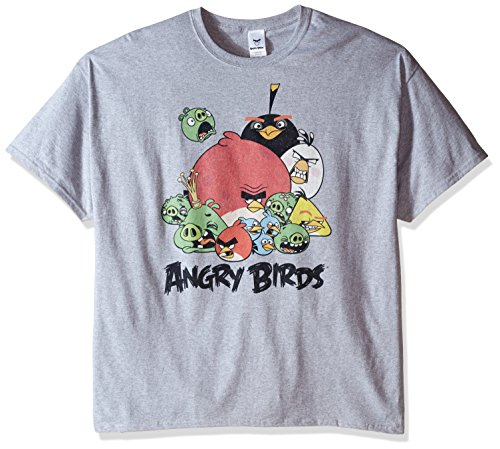 Angry Birds Mens Group T Shirt