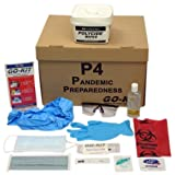 Go-Kit Pandemic Preparedness Kit, P4 (1 Person for 4 Weeks, During a Pandemic Outbreak)