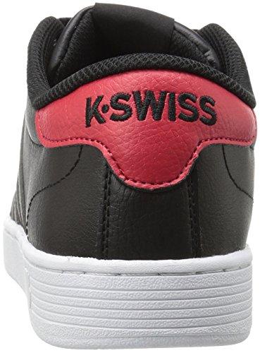 K-Swiss Herren Hoke CMF Sneaker Schwarz(BLACK/RED)