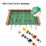 Portzon Foosball Table, Mini Tabletop Billiard Game