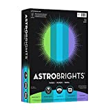 "Astrobrights Color Paper, 8.5"" x 11"", 24 lb/ 89"