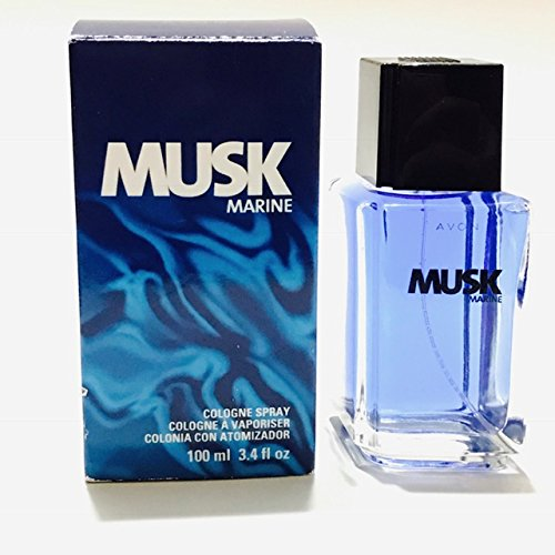 (Avon MUSK MARINE Cologne Spray 3.4 Fl Oz (Old)