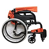 KHL Wheelchair With Foldable Back Rest