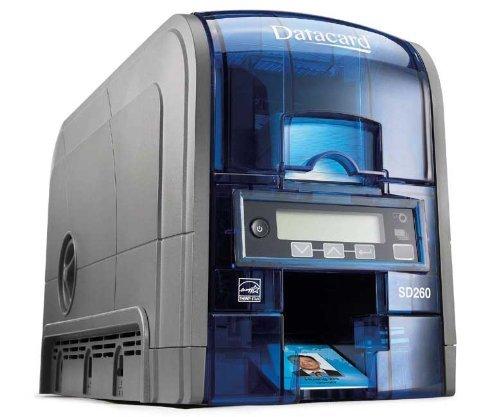 Datacard SD260 Single Sided ID Card Printer Simplex 100-Card Input Hopper (H1) 535500-002