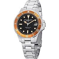 Men's 664.04 Aquadiver Quartz Date Stainless Steel Link Bracelet Diver Watch