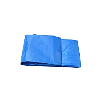 Love Home Cubierta de Polvo Azul al Aire Libre de la Lona Lona plástica Impermeable del
